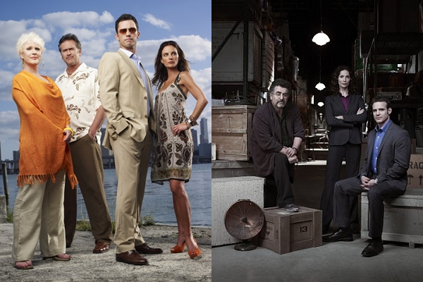March Madness: Burn Notice vs. Warehouse 13