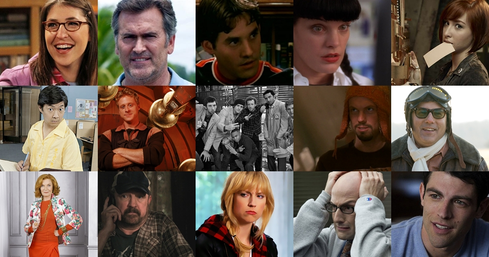 Top 15 Quirky Characters on TV