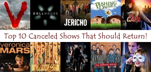 Top 10 Canceled Shows That Should Return