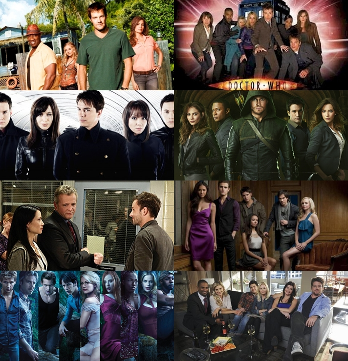 Eight TV Fandoms I Embraced in 2012