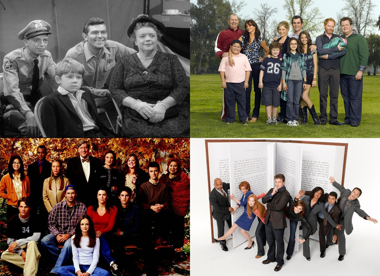 May Madness: The Andy Griffith Show vs. Modern Family, Castle vs. Gilmore Girls