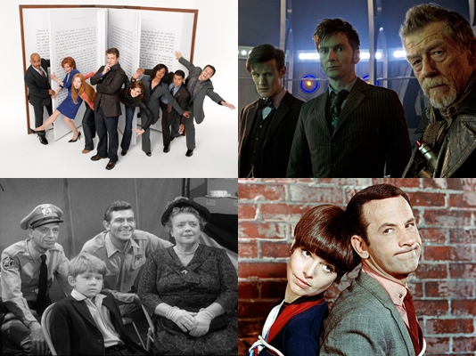 May Madness: Doctor Who vs. Castle, The Andy Griffith Show vs. Get Smart